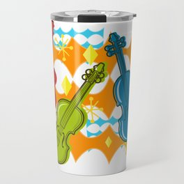 Sunny Grappelli String Jazz Trio Composition Travel Mug