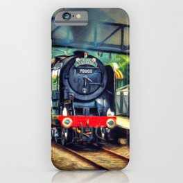 Steam Engine Locomotive iPhone Case
