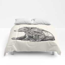 Bear // Graphite Comforters