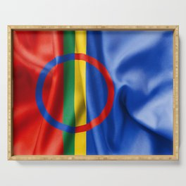 Sami Flag Serving Tray