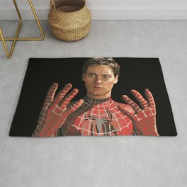 toby maguire Rug