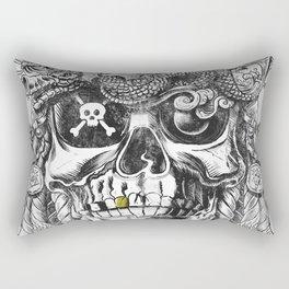 No Quarter Rectangular Pillow