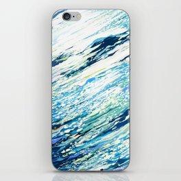 Silent Blue iPhone Skin