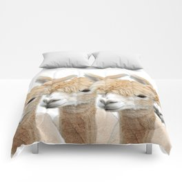 Alpaca Line Up Comforters