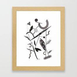 Abstract Botanica - 2 Framed Art Print