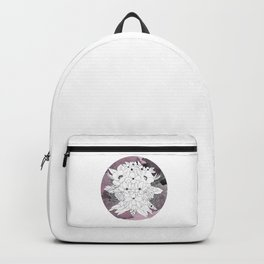 B&W Bouquet Backpack