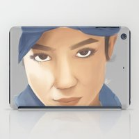 tupac iPad Cases featuring Makaveli Aiko by Rey Lallave