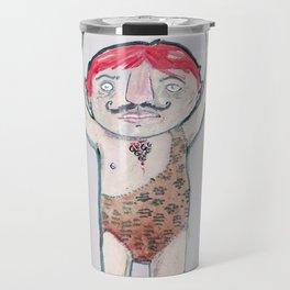 THE STRONG MAN Travel Mug