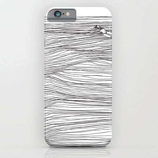 Another Long Silence iPhone & iPod Case
