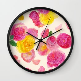Royal Garden Wall Clock