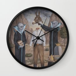 The Coronation Wall Clock