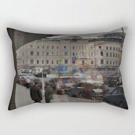 Moscow Opera Reflected Rectangular Pillow