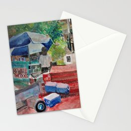 Beware the Dogs Stationery Cards