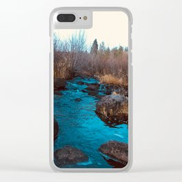 Mountain Creek Clear iPhone Case