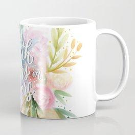 The Earth Laughs Coffee Mug