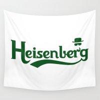 heisenberg Wall Tapestries featuring Heisenberg by Karlangas