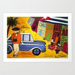 Imagining Havana Art Print