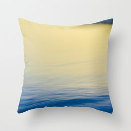 Tide and Waves Throw Pillow