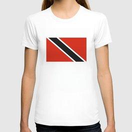 Trinidad and Tobago country flag T-shirt