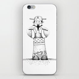 God of Fortune iPhone Skin