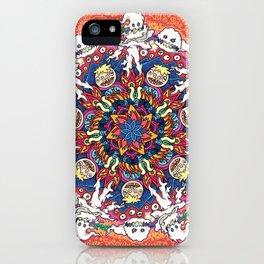 Kids See Ghosts Mandala iPhone Case