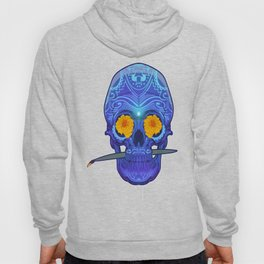 Sugar skull 3rd eye Hoody