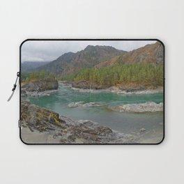 Katun river, Altai mountains, Siberia, Russia Laptop Sleeve