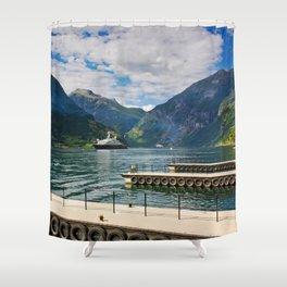 Geiranger Shower Curtain
