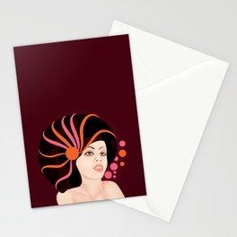 Snail Lady Stationery Cards