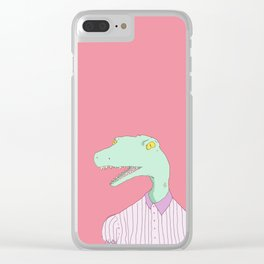 Tammy the Dinosaur Clear iPhone Case
