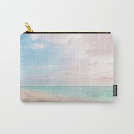 Romantic beach Carry-All Pouch
