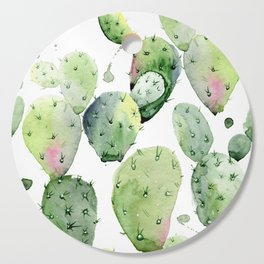 Cactus commotion Cutting Board