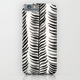 Black Seaweed iPhone Case