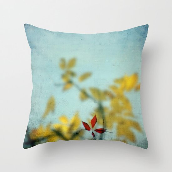 When Red meets Yellow Throw Pillow