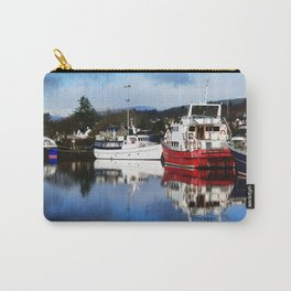 Boats on the Canal Carry-All Pouch