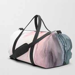 Blush and Blue Dream 1: Original painting Duffle Bag