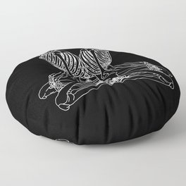 Don't Lose Your Head Floor Pillow