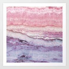 Mystic Stone Serenity Crossing Art Print