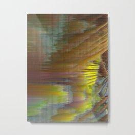 Glitch_art: Tropics_003 Metal Print