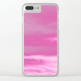 Pink Summer Vibes #1 #decor #art #society6 Clear iPhone Case