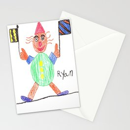 Race Clown Stationery Cards