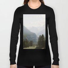 A Switzerland Mountain Valley - Landscape Photography Long Sleeve T-shirt