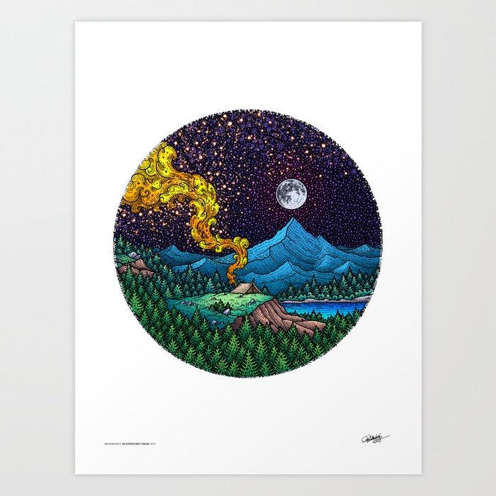 AN ADVENTURER'S DREAM - Colored - Visothkakvei Kunstdrucke