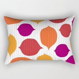 Shapes and Threads Rectangular Pillow