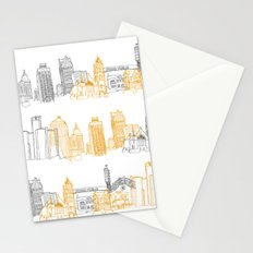 Detroit Architecture Landmarks Stationery Cards