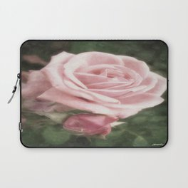 Pink Roses in Anzures 2 Nostalgic Laptop Sleeve