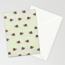 Snail's Trails Stationery Cards