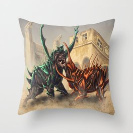 Lurhound Throw Pillow