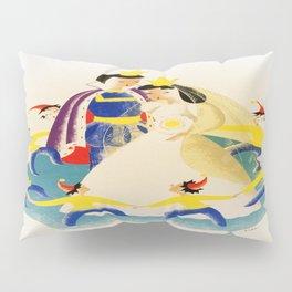 Vintage poster - Snow White Pillow Sham