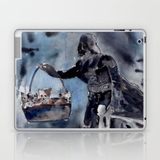 Cat Dad Vader 2 Laptop & iPad Skin